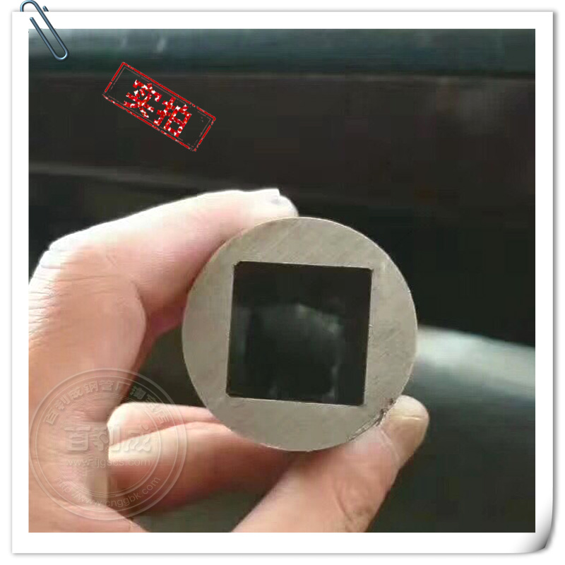 shaped steel pipe outer round inner square