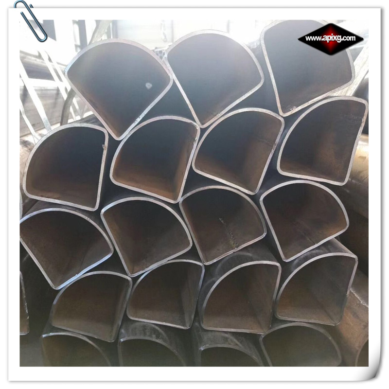 shaped steel pipe quarter circle
