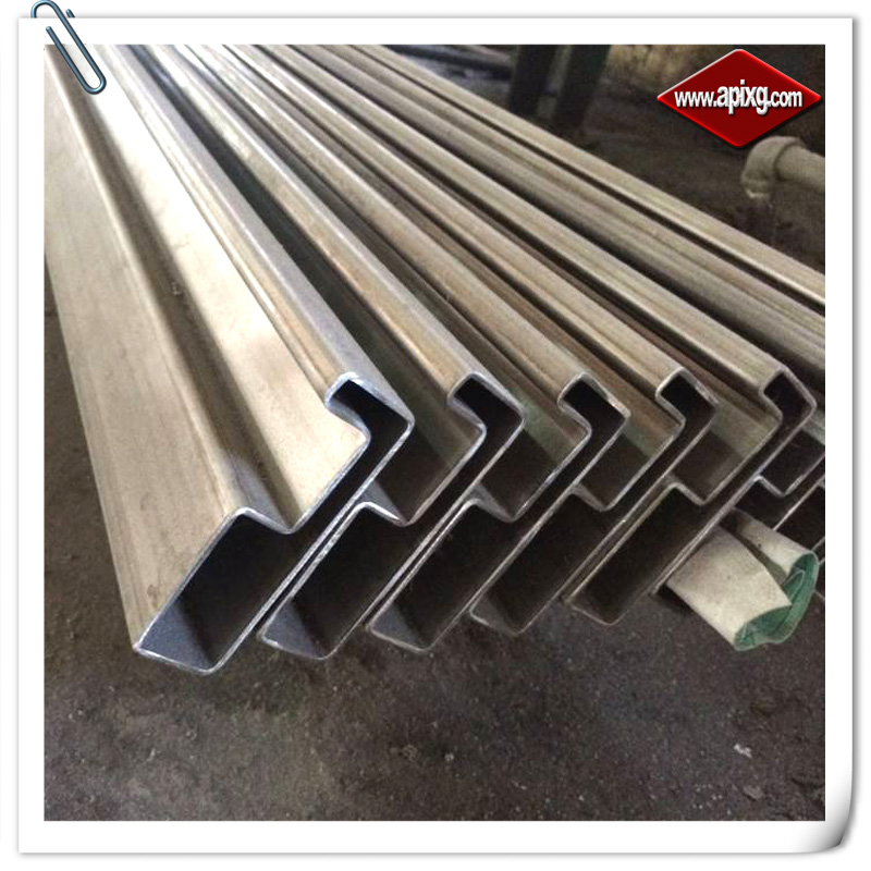 concave shaped steel pipe